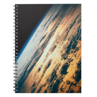 Earth from Satellite 6 Spiral Notebook