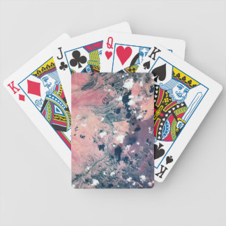 Earth from Satellite 7 Bicycle Playing Cards