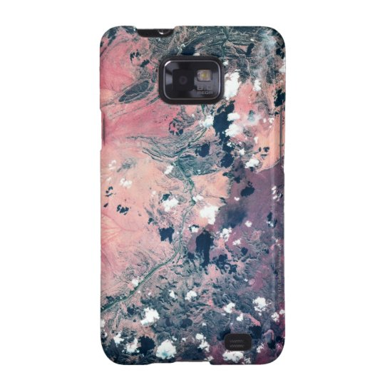 Earth from Satellite 7 Samsung Galaxy S2 Case