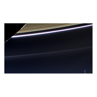 Earth from Saturn Double-Sided Standard Business Cards (Pack Of 100)
