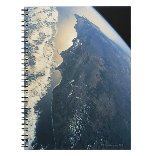 Earth from Space 11 Notebook