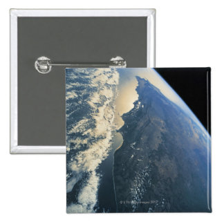 Earth from Space 11 Pinback Button
