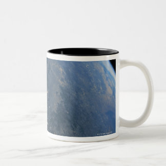 Earth from Space 11 Two-Tone Coffee Mug