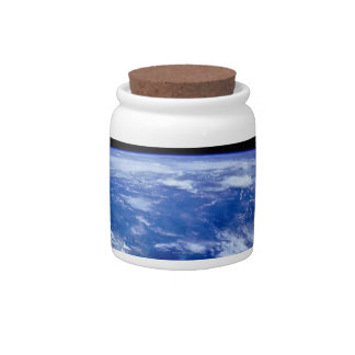 Earth from Space 13 Candy Dish