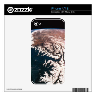 Earth from Space 14 Decal For iPhone 4
