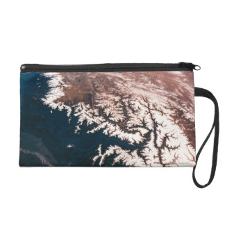 Earth from Space 14 Wristlet Purse
