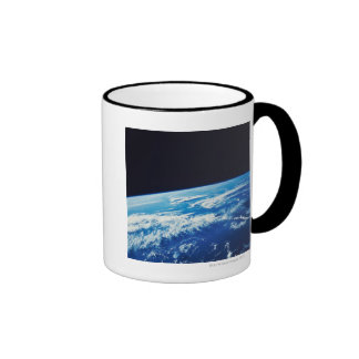 Earth from Space 17 Ringer Coffee Mug