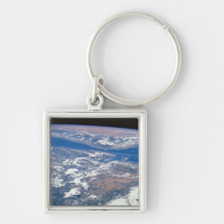 Earth from Space 19 Keychain