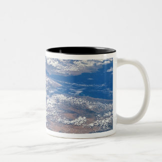 Earth from Space 19 Two-Tone Coffee Mug