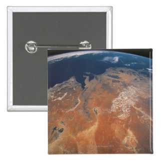 Earth from Space 24 Pinback Button