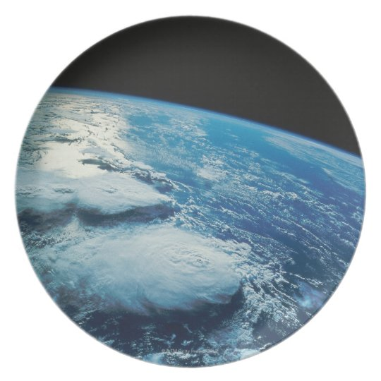 Earth from Space 27 Dinner Plate