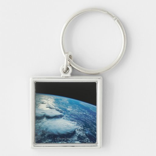 Earth from Space 27 Keychain