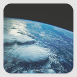 Earth from Space 27 Square Sticker