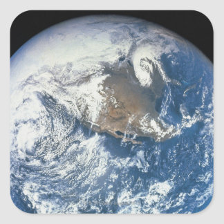 Earth from Space 28 Square Sticker
