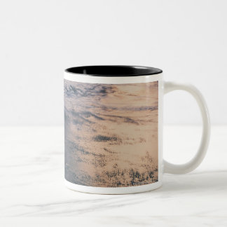 Earth from Space 32 Two-Tone Coffee Mug