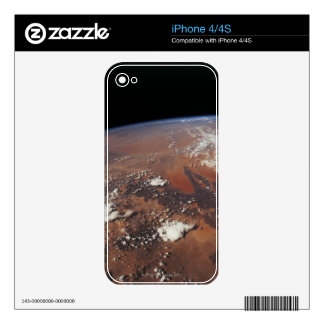 Earth from Space 4 Decal For iPhone 4S