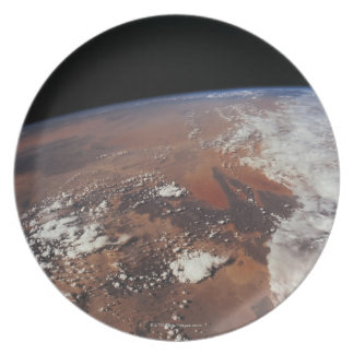 Earth from Space 4 Dinner Plate