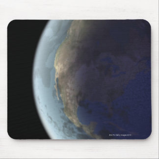 Earth from Space 6 Mouse Pad