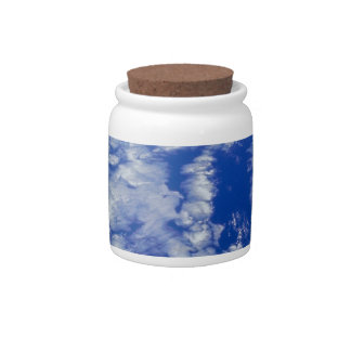 Earth from Space 8 Candy Jar