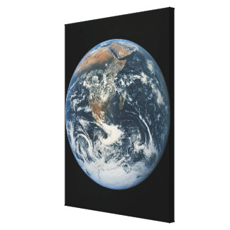 Earth from Space 9 Canvas Print