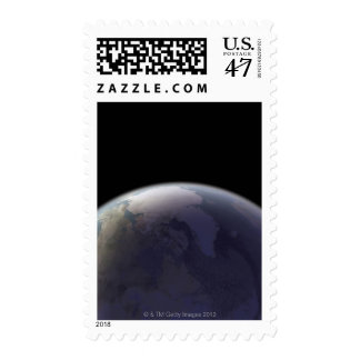 Earth from Space 9 Postage