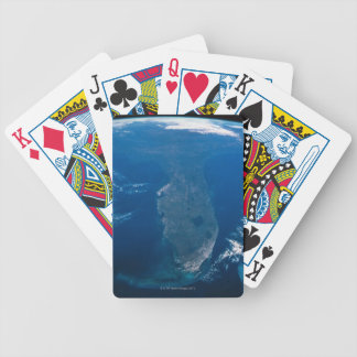 Earth from Space Bicycle Playing Cards
