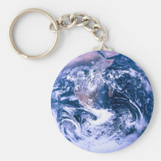 Earth From Space Blue Marble Key Chains