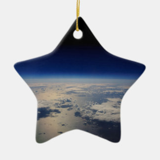 Earth from Space Ceramic Ornament