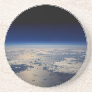 Earth from Space Drink Coaster