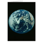 Earth from Space Greeting Cards