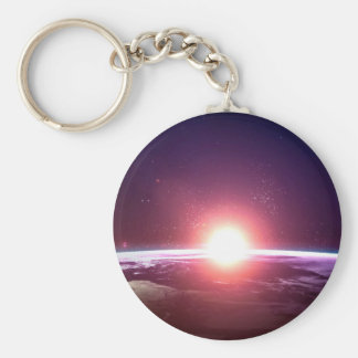 Earth from Space Keychain