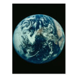 Earth from Space Post Card