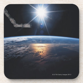 Earth from Space Shuttle 2 Coaster