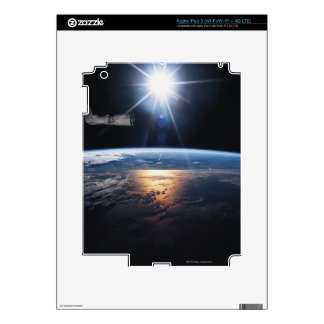 Earth from Space Shuttle 2 iPad 3 Skin