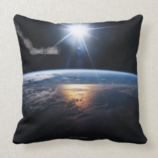 Earth from Space Shuttle 2 Pillow