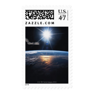 Earth from Space Shuttle 2 Postage