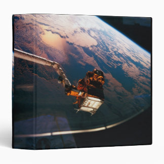 Earth from Space Shuttle 3 3 Ring Binders