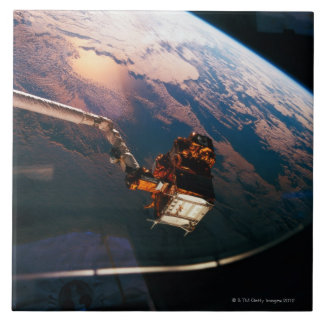 Earth from Space Shuttle 3 Ceramic Tile