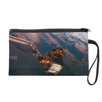 Earth from Space Shuttle 3 Wristlet Purse