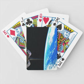 Earth from Space Shuttle 4 Bicycle Playing Cards