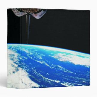 Earth from Space Shuttle 4 Vinyl Binders