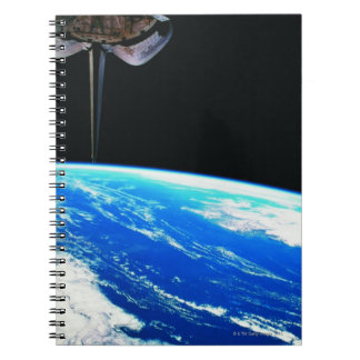 Earth from Space Shuttle 4 Notebook