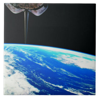 Earth from Space Shuttle 4 Tile