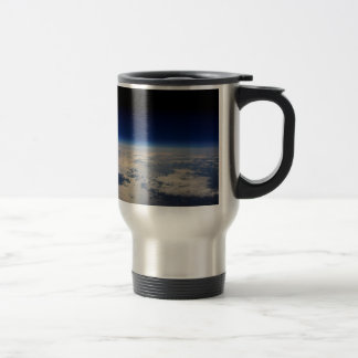 Earth from Space Travel Mug
