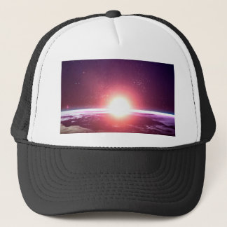 Earth from Space Trucker Hat