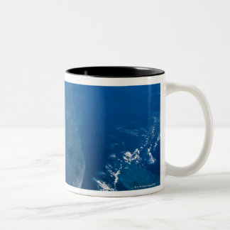 Earth from Space Two-Tone Coffee Mug