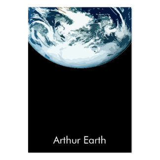 Earth from Space Wide Card