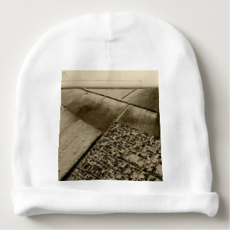 Earth from the air baby beanie