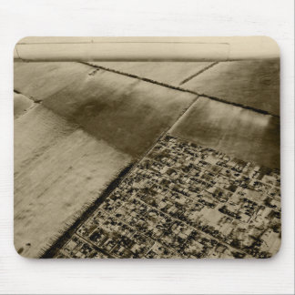 Earth from the air mouse pad