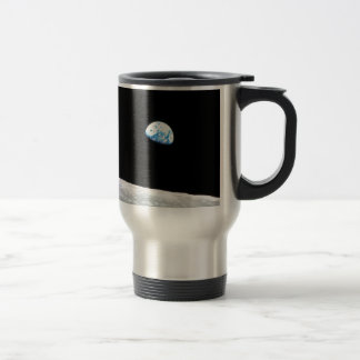 Earth from the Moon 15 Oz Stainless Steel Travel Mug